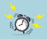 wake up time, ringing alarm clock