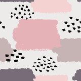 Abstract seamless pattern. Vector illustration for fashion design.