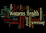 Womens Health, word cloud concept 5