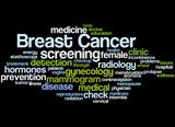 Breast Cancer, word cloud concept 4