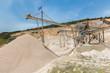 Obrazy na płótnie, fototapety, zdjęcia, fotoobrazy drukowane : Machine in Greece mining gravel