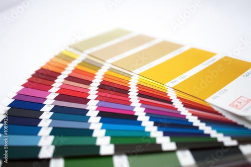 Farbfächer Poster