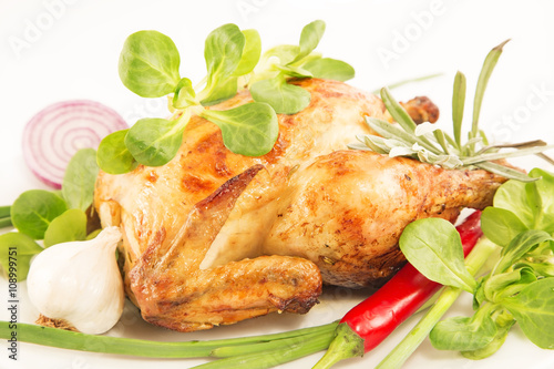Roasted chicken Poster