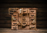 Retro styled jewel box
