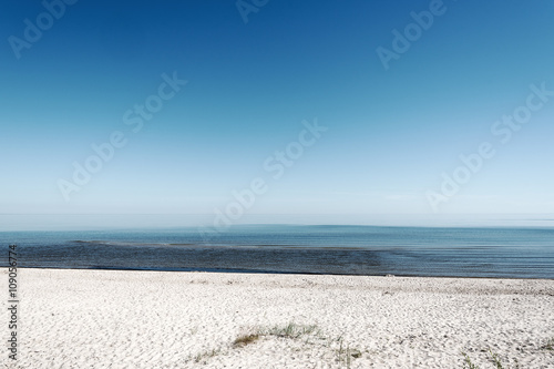 Still Baltic sea. - 109056774