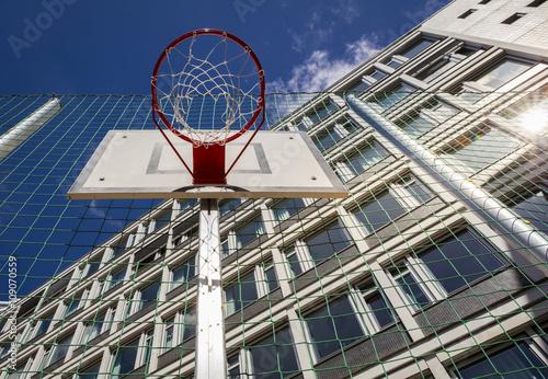 Poster Baskettballkorb