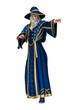 3D Illustration Fantasy Wizard on White