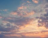 Fototapety bright sunset sky background