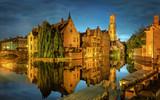 Bruges Canal, Belgium