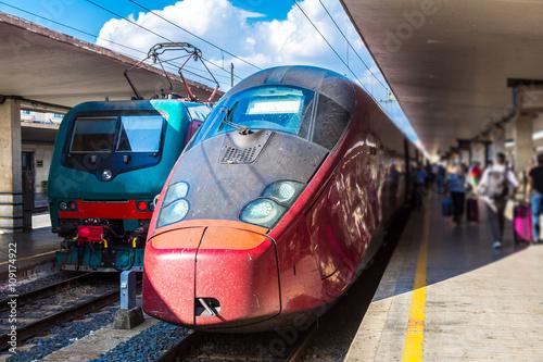 Poster Florence train station Santa Maria Novella