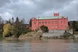 Castle Klasterec nad Ohri in west Bohemia, Czech republic