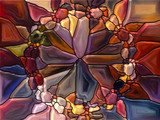 Stained Glass Abstraction