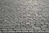 Fototapety Old cobblestone pavement.