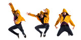 Man dancing street dance