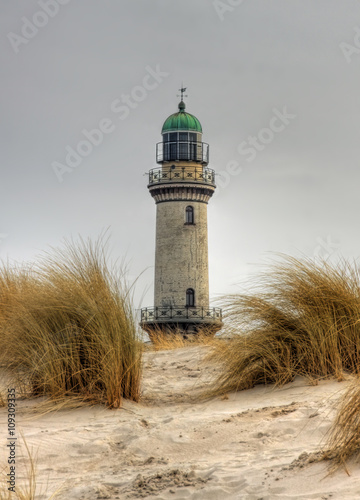 Lighthouse in Warnemünde (Mecklenburg-Vorpommern, Germany) - 109309335