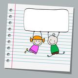 notebook paper kids
