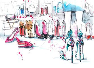 footwear © okalinichenko
