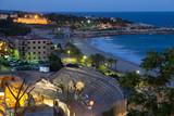 ancient  amphitheater   in evening. Tarragona