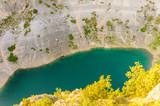 Croatia blue lake