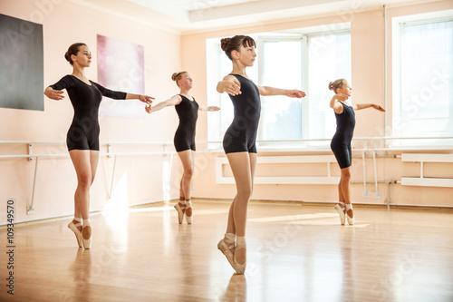 Young dancers in ballet class  © Andrey Bandurenko
