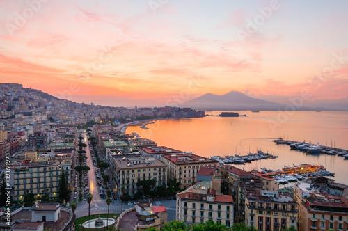 Fotobehang Napels Napoli