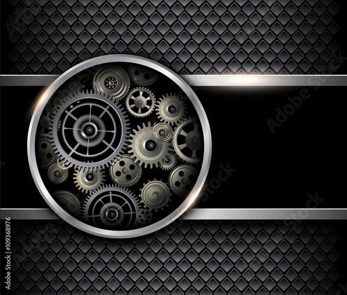 czarny-mechanizm-3d