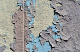 chipped and peeling paint texture