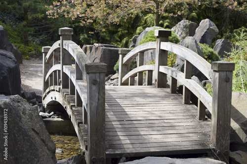 Panel Szklany Spring in japanese garden - Frühling im japanischen Garten