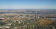 Aerial view of the New York City skyline with New Jersey in the foreground