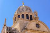 Sibenik Croatia St. James cathedral