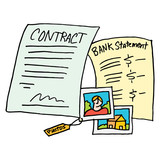 legal evidence contract documents