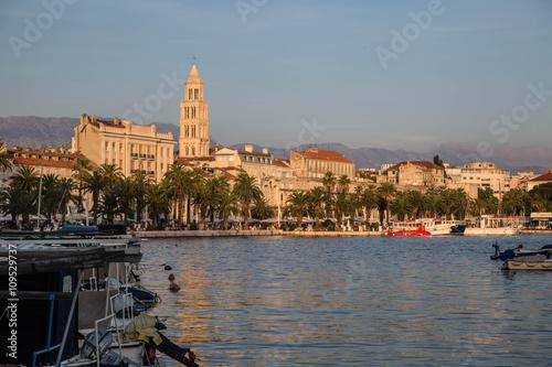 Poster Sehenswürdigkeiten von Split, Kroatien