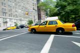 Speeding NYC Taxi