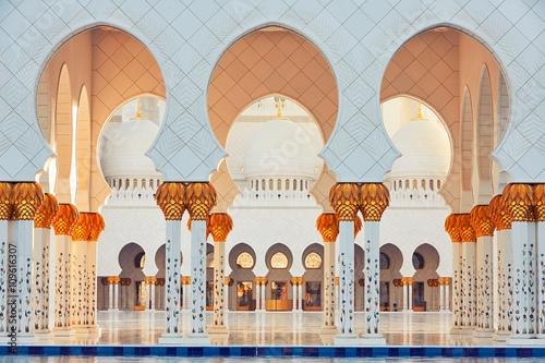 Papiers peints Abou Dabi Mosque in Abu Dhabi