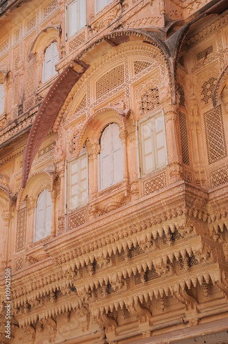 Poster Mehrangarh Fort, located in Jodhpur, Rajasthan is one of the largest forts in India