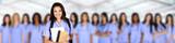 Fototapety Large Group of Female Nurses