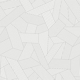 seamless pattern with abstract line ornament - 109681129