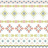 seamless pattern with line ethnic ornament