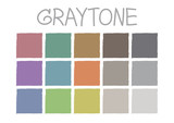 Fototapety Graytone Color Tone without Code Vector Illustration