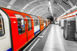 canvas print picture - London Tube