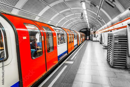 Poster London Tube