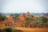 The amazing temples of ancient Pagan. Bagan, central Myanmar, Asia