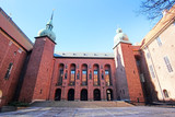 Stockholm, Sweden - March, 16, 2016: Сity Hall - one of the most popular tourist places in Stockholm, Sweden