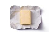 Fototapety butter in open packaging