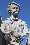 Statue de Johann Strauss à Paris