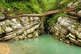 Canyon in the jungle of Abkhazia