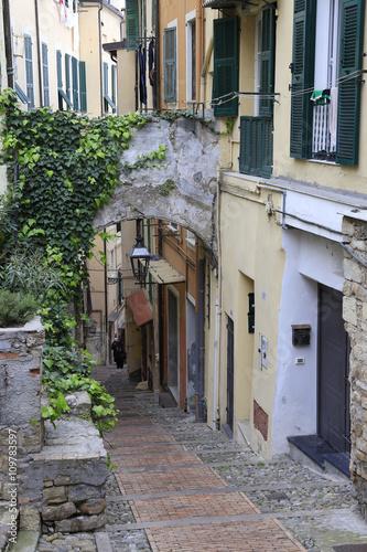 Pittoreske Gasse in der Altstadt