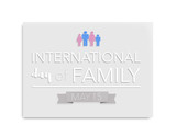 International day of family, may 15th