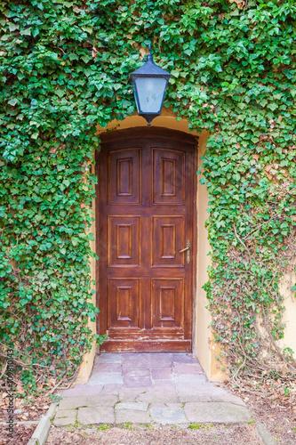 Fototapeta Stare zabytkowe drzwi