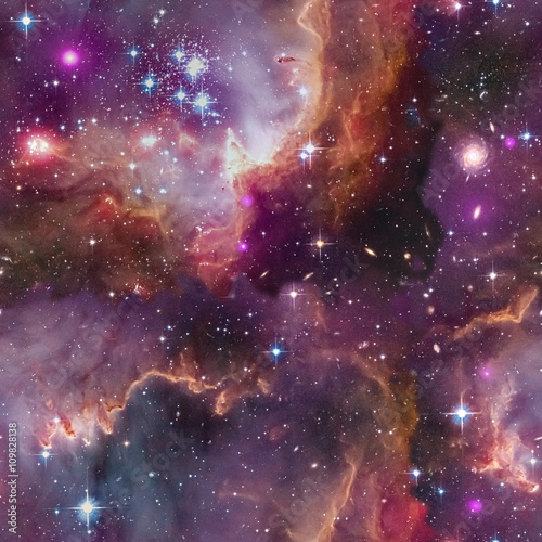 Universe background.Seamless.Elements of this Image Furnished by NASA